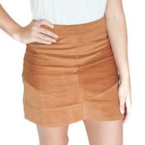 Apricot Lane boutique corduroy skirt
